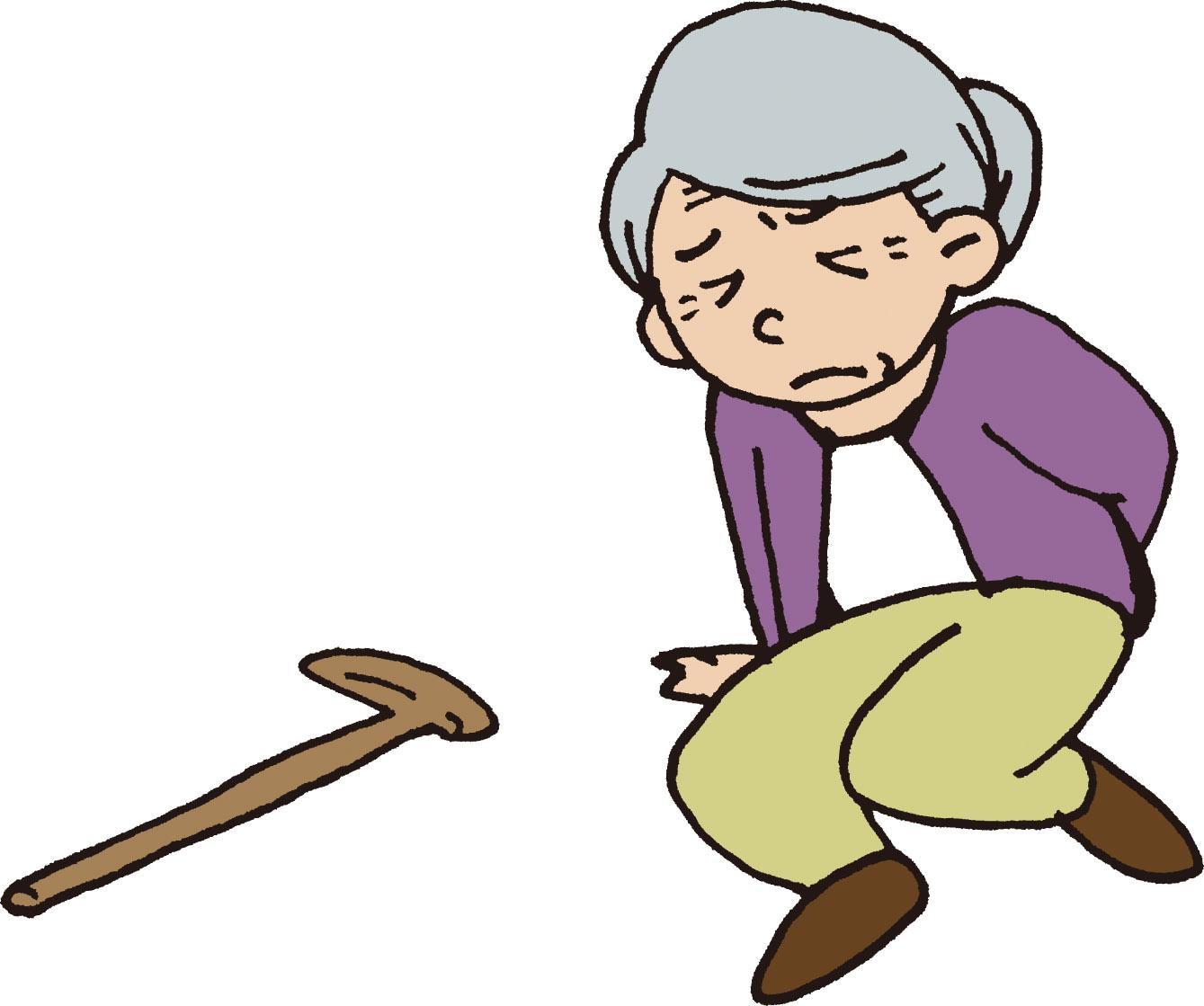 居室内で転倒が続く認知症の人に対する対応の成功例と失敗例