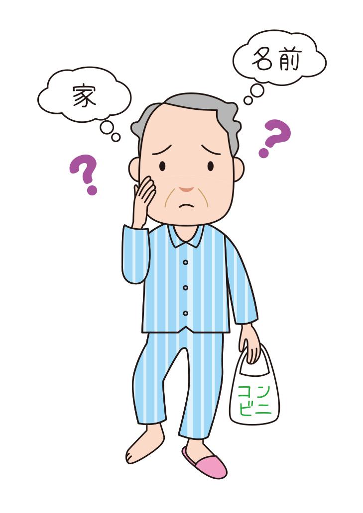 見当識障害と徘徊の症状がある認知症の人への対応事例